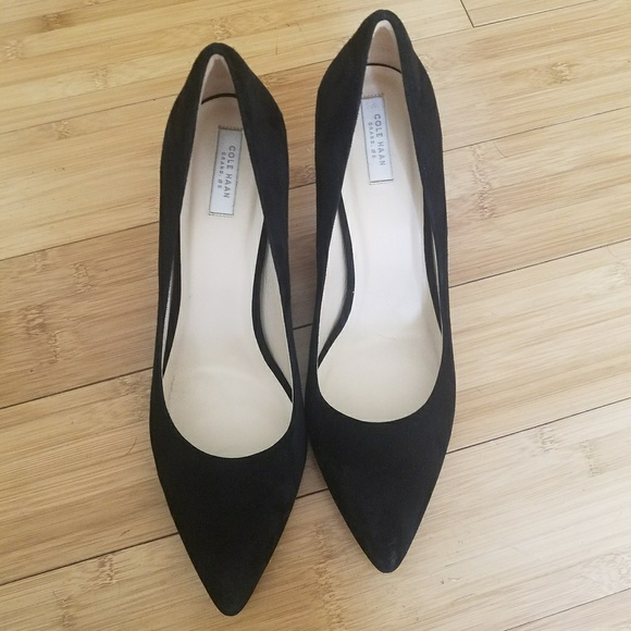 6058247b8b39 Cole Haan Shoes - Suede Cole haan vesta pump